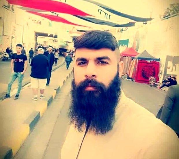 (عکس) عامل آتش زدن کنسولگری ایران در نجف