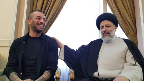 فیلم دیدار تتلو با ابراهیم رئیسی