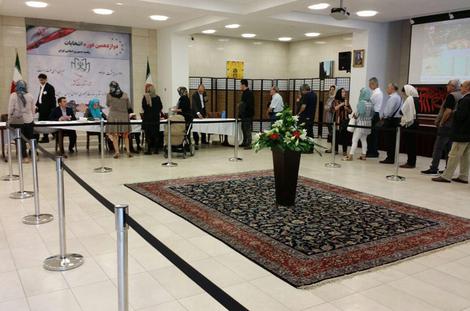 صف رای دهندگان در ملبورن