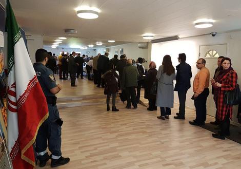 صف رای گیری در سوئد