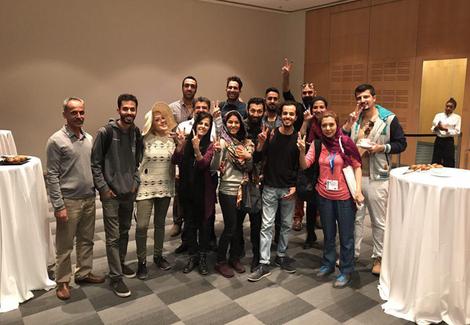 شماری از رای دهندگان ایرانی در کیپ تاون افریقای جنوبی