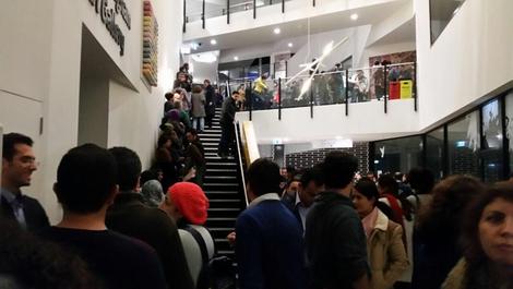 صف رای گیری در ملبورن استرالیا