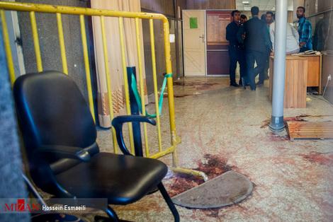 تصاویر/ ورودی مجلس، نقطه آغاز تیراندازی
