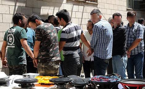 دستگیری ۱۱۳ زورگیر و سارق پایتخت