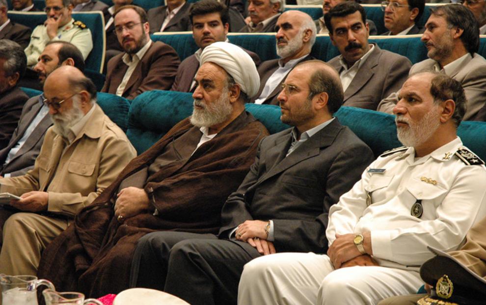 مراسم معارفه شهردار تهران -1384