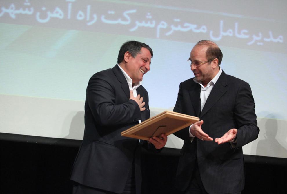 تودیع و معارفه مدیرعامل متروی تهران-1389