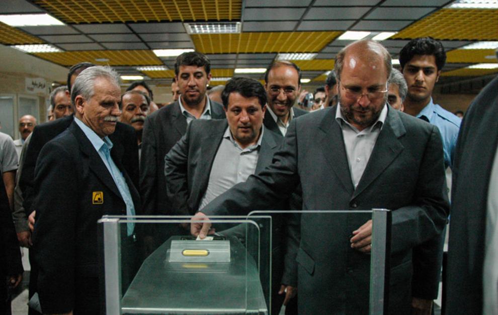 مراسم افتتاح 2 ايستگاه جديد مترو-1385