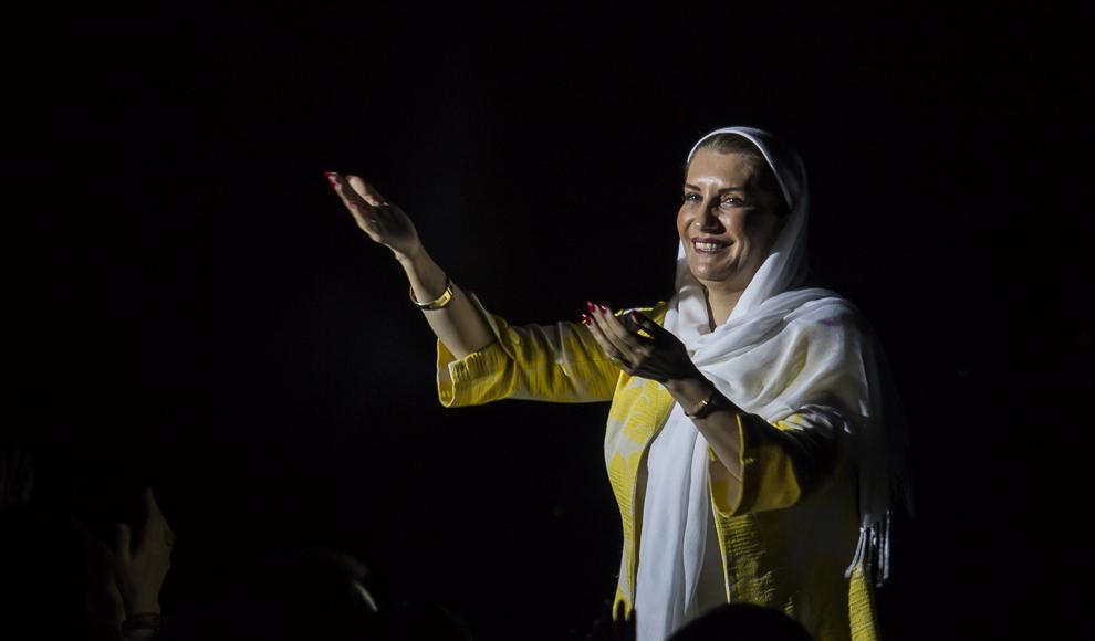 کنسرت شهرام شکوهی. (باشگاه خبرنگاران/ آرش میرسپاسی)