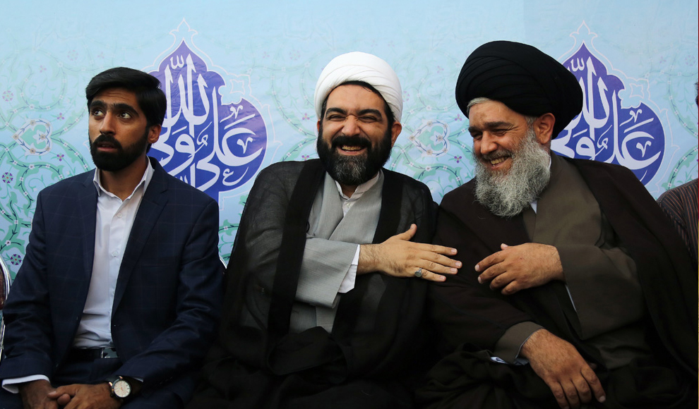 برگزاری جشن بزرگ عید غدیر در میدان امام حسین(ع). (باشگاه خبرنگاران/ مجتبی عربزاده)