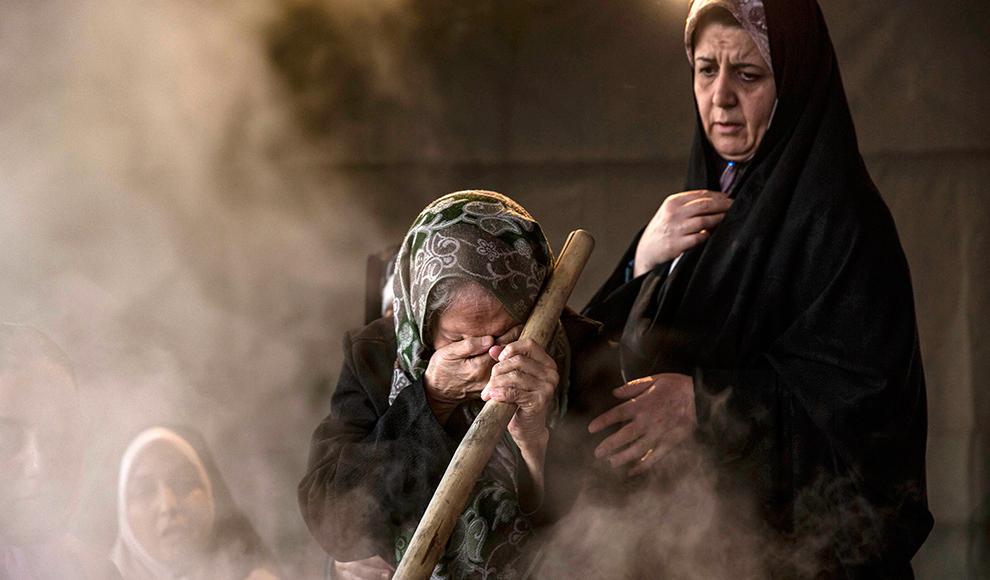 پخت سمنو در روز عید غدیر. (میزان/ فرناز دمن )