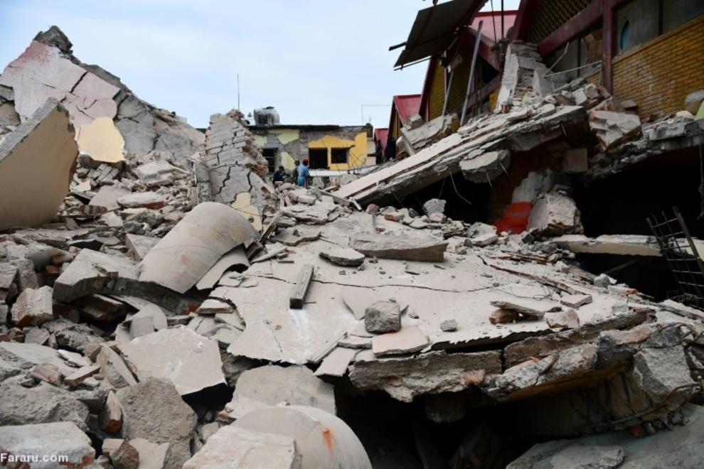 زلزله مرگبار مکزیک