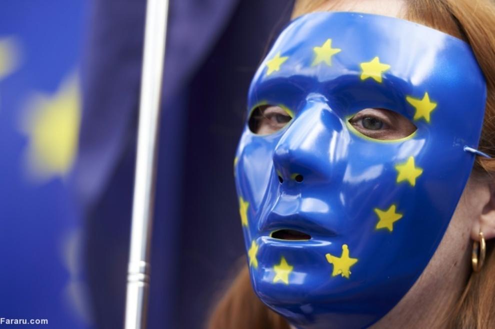 اعتراض طرفداران اتحادیه اروپا در لندن