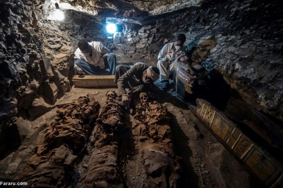 بررسی مومیایی های مصر