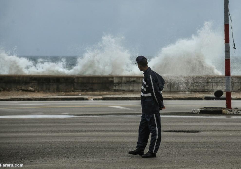 تماشای موجهای سنگین در هاوانا