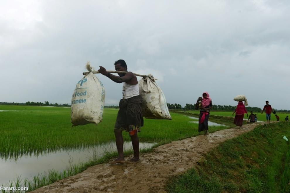 مسلمانان روهینگیا تحت تعیقیب نیروهای بنگلادش