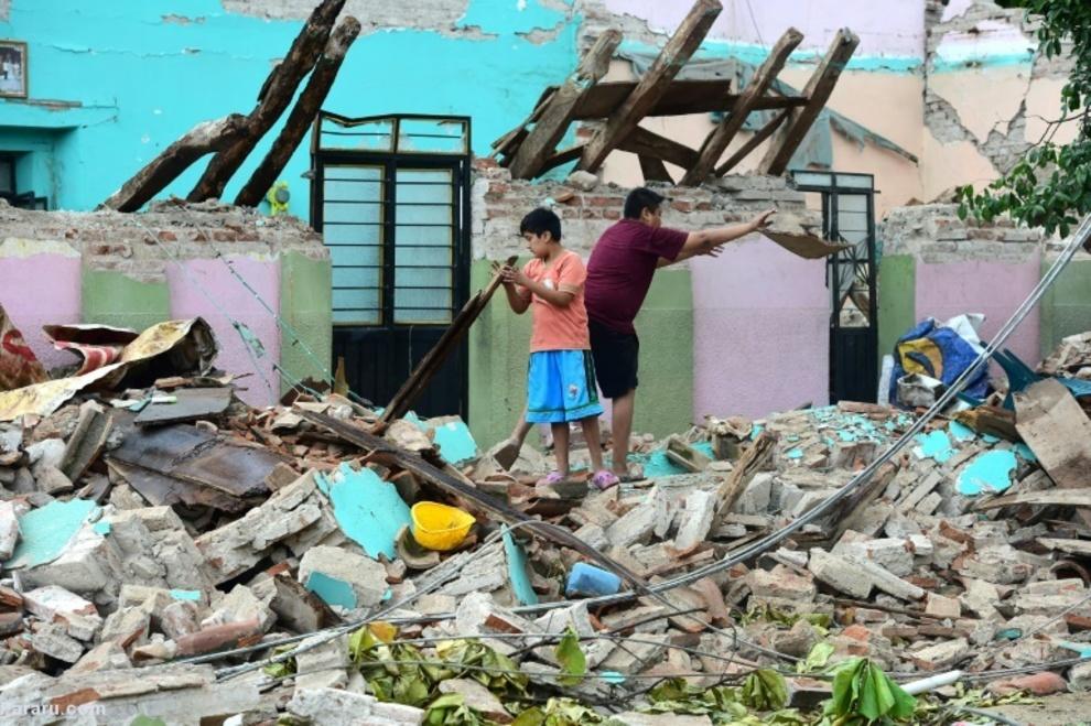 زلزله ویرانگر مکزیک
