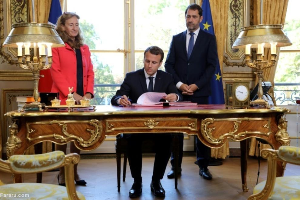 دفتر کار رئیسجمهور فرانسه در کاخ الیزه