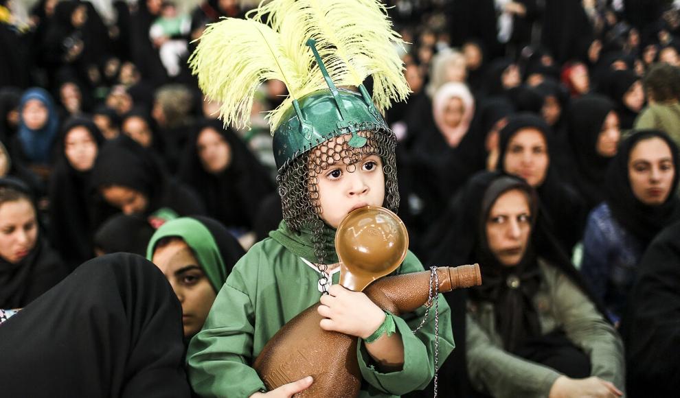 همایش شیرخوارگان حسینی. (تسنیم/ محمد رنجبر)
