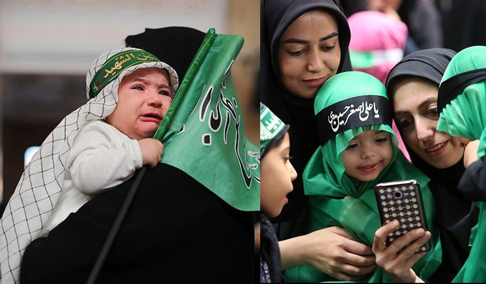 راهپیمایی ضدآمریکایی نمازگزاران جمعه تهران. (باشگاه خبرنگاران/ امید شریعتی)