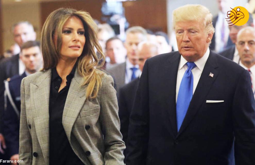 روزهای خوش ترامپ در کاخ سفید به همراه همسر سومش ملانیا