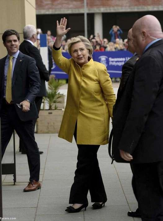 (تصاویر) دکتری افتخاری برای هیلاری کلینتون