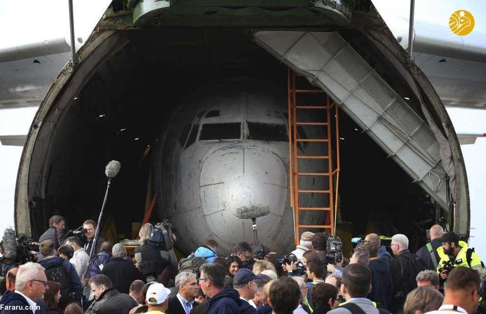 وزارت خارجه آلمان این هواپیما را که سالها در برزیل به عنوان هواپیمای باری مشغول به پرواز و پس از زمینگیری در حال پوسیدن بود خرید و آن را در فرودگاه فریدریش هافن ایالت بادن - وورتمبرگ به نمایش گذاشت