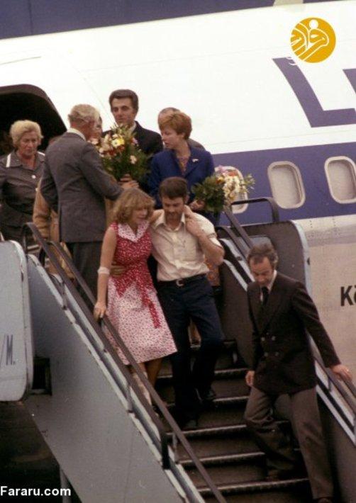 مسافران هواپیمای جهنمی به خانه رسیدند