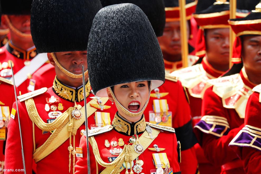 تشییع پادشاه تایلند پس از یک سال