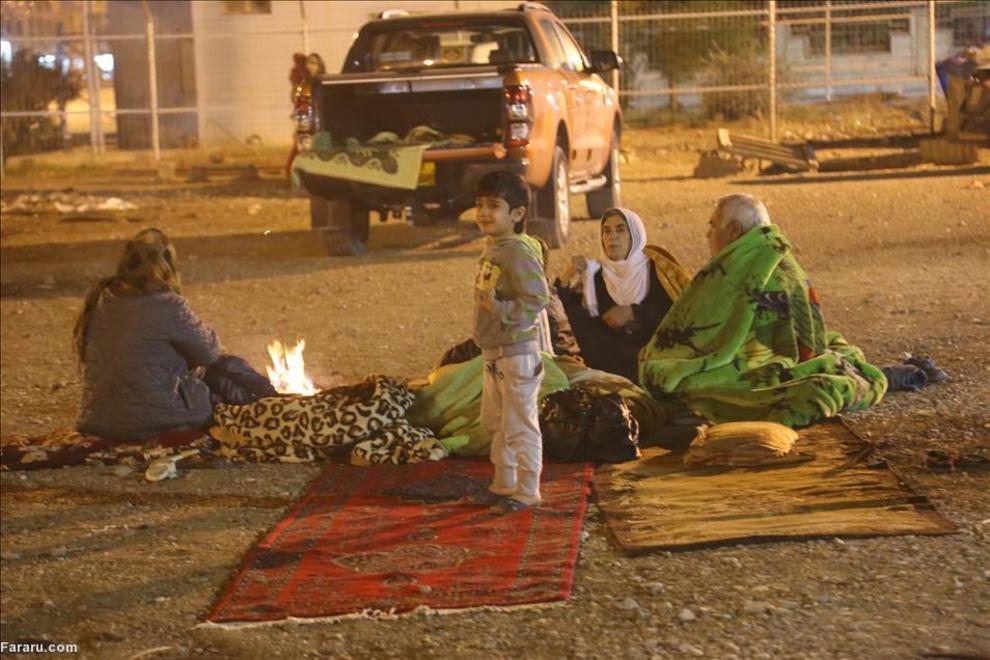(تصاویر) خسارت زلزله در حلبچه عراق