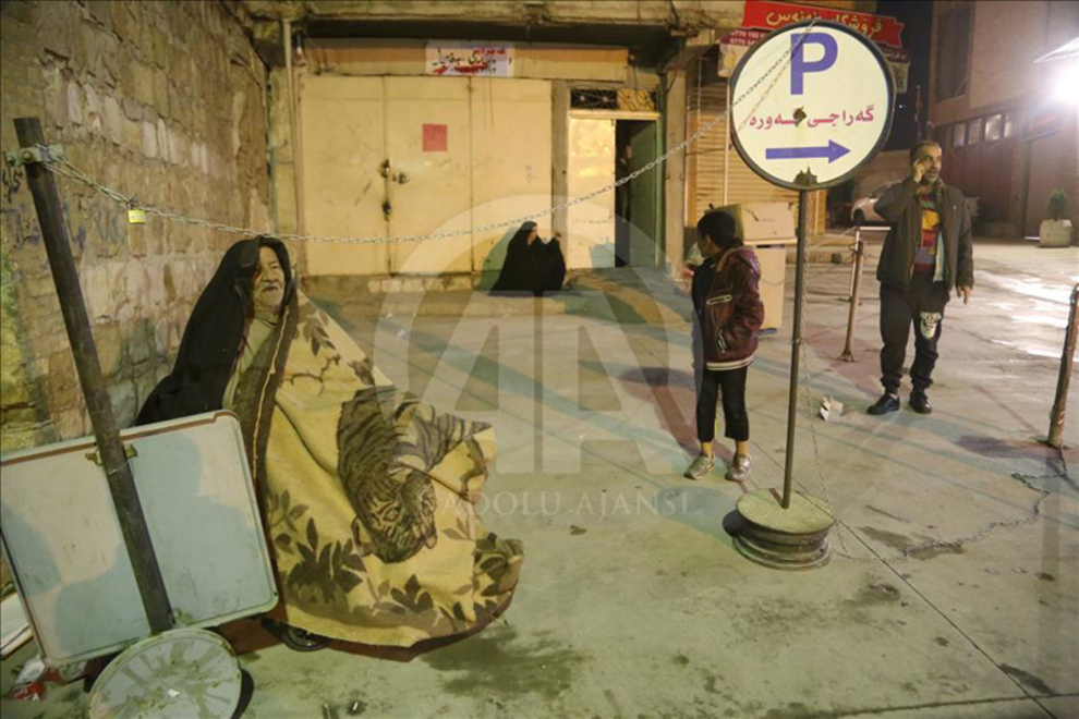 (تصاویر) شب زلزله در سلیمانیه عراق