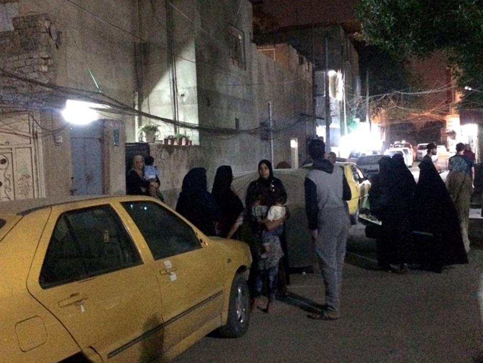 بغداد پس از زلزله(اسوشیتدپرس)