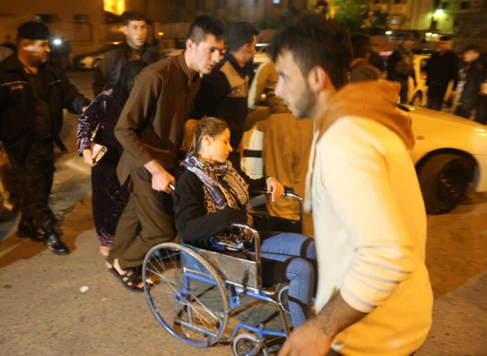 مقابل بیمارستان سلیمانیه عراق(گتی ایمیج)