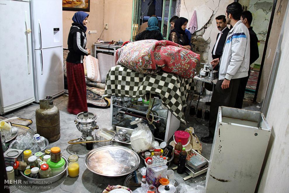 عکس زلزله زلزله کرمانشاه زلزله امروز حوادث کرمانشاه اخبار روانسر