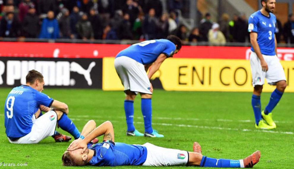 (تصاویر) وداع تراژیک بوفون با پیراهن تیم ملی