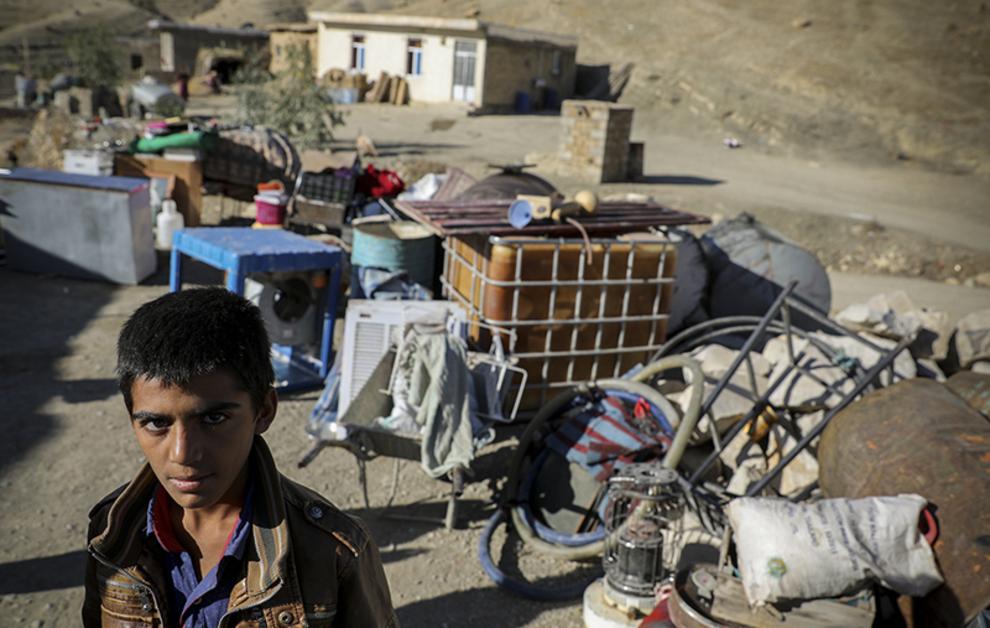(تصاویر) میزان تخریب روستاهای سرپل ذهاب