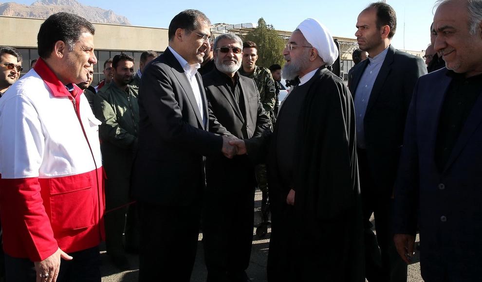 زلزله زدگان شهرستان جوانرود. (مهر/ مبین پیمانکار)