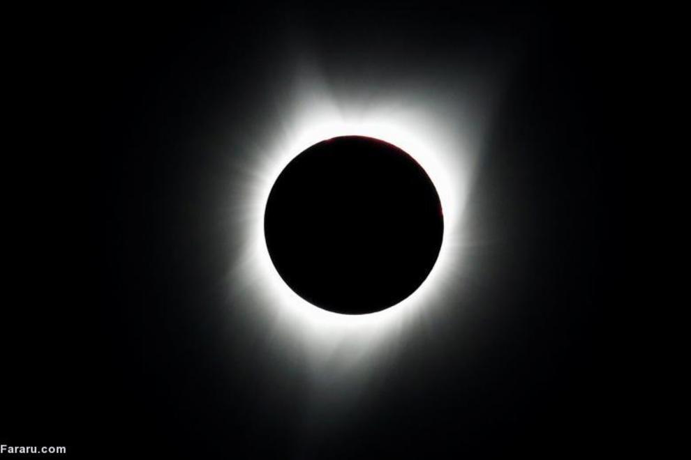 خورشید گرفتگی کامل در ایالات متحده امریکا