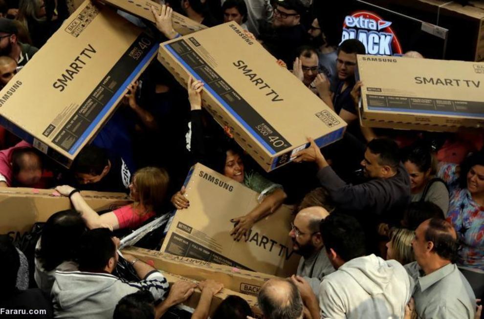 جمعه سیاه در فروشگاهی در برزیل
