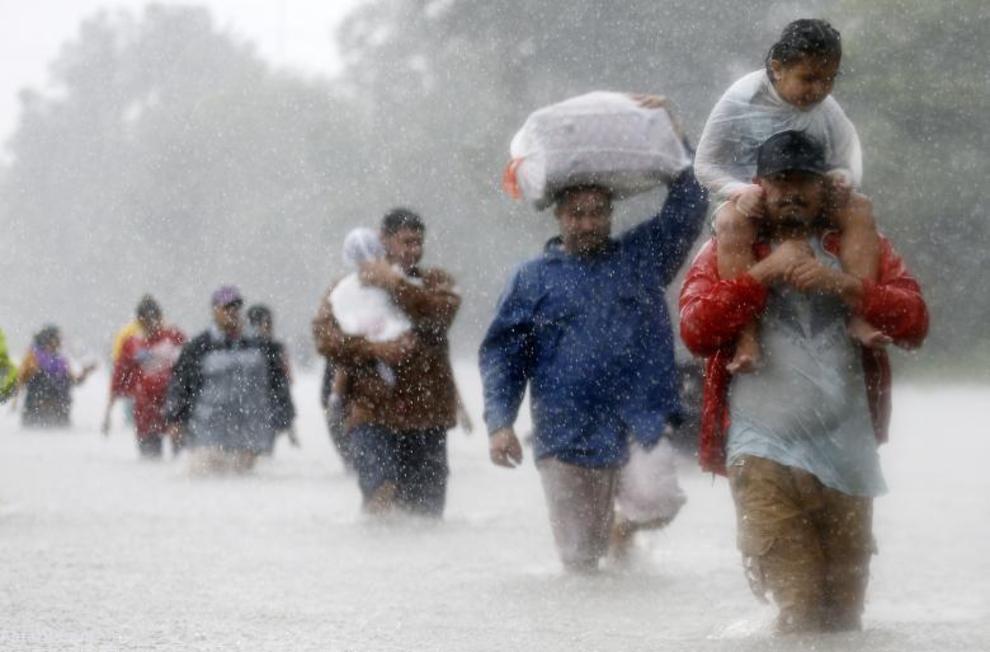 طوفان هاروی در تگزاس