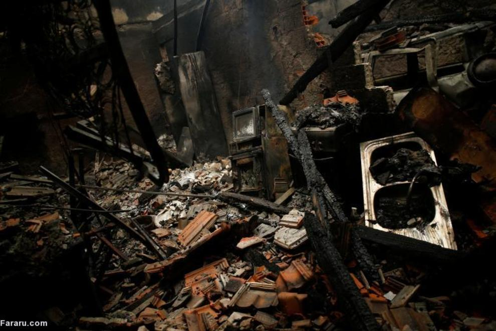 آتشسوزی در پرتغال