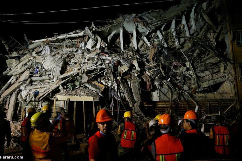 زلزله در مکزیکوسیتی
