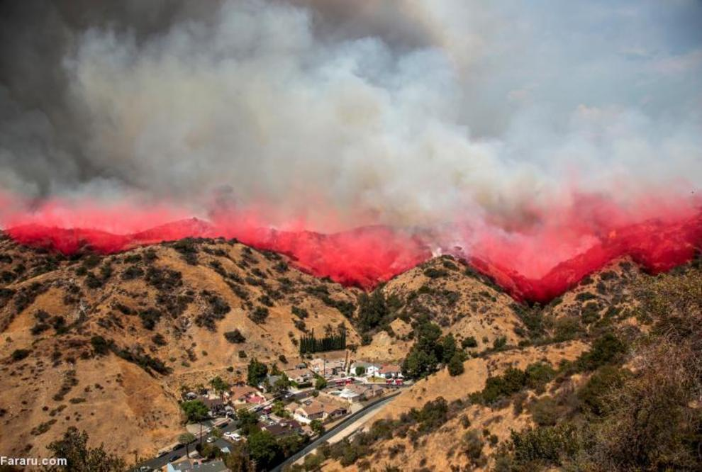 آتشفشان در کالیفرنیا