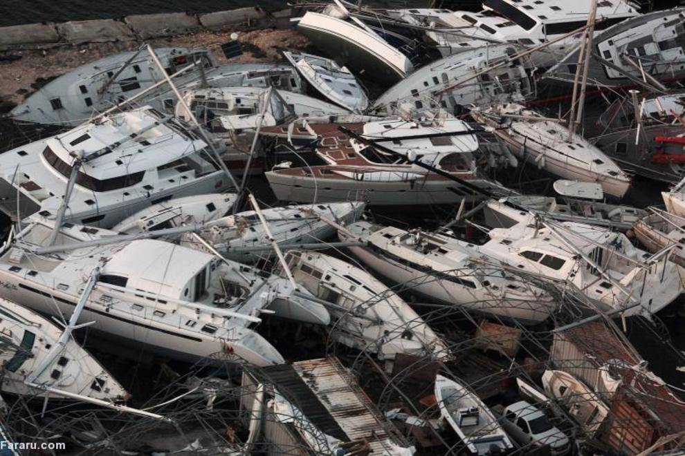 طوفان ایرما در هلند