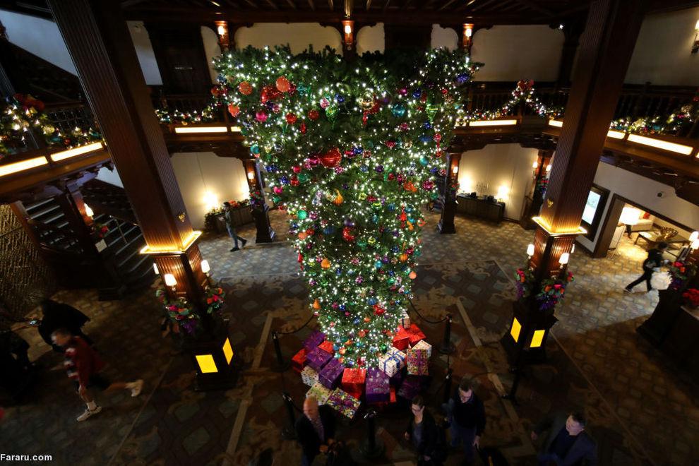 تزئینات کریسمس در کالیفرنیا