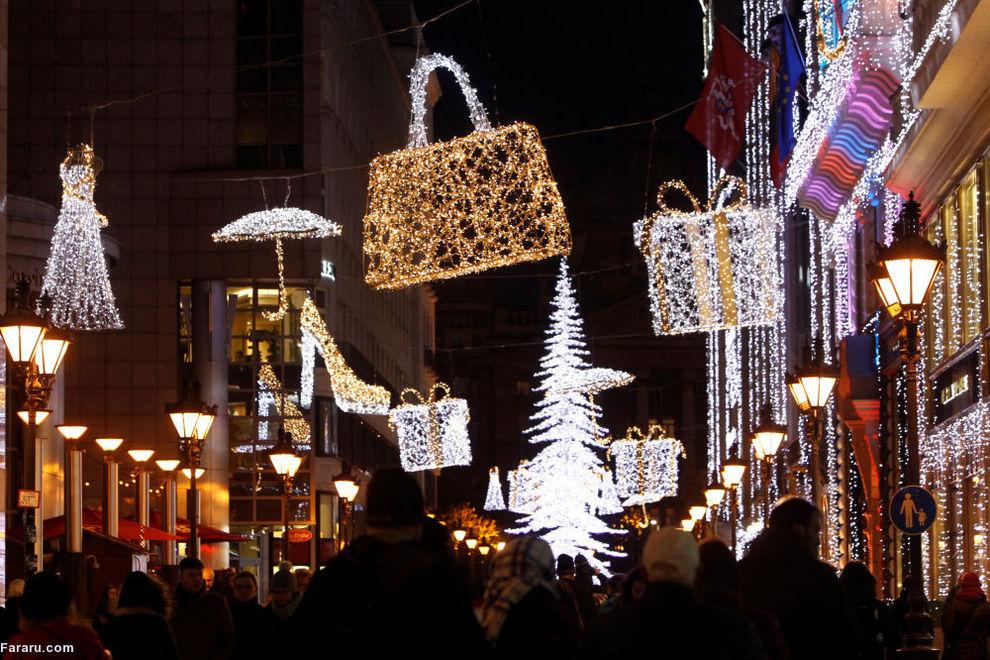 آمادگی برای کریسمس در کشورهای مختلف