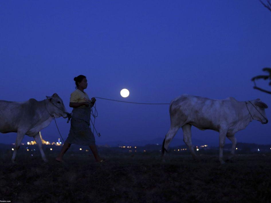 ابرماه در میانمار