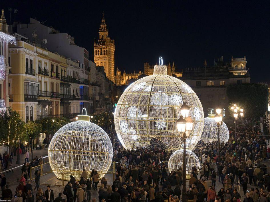 افتتاحیه کریسمس در اسپانیا