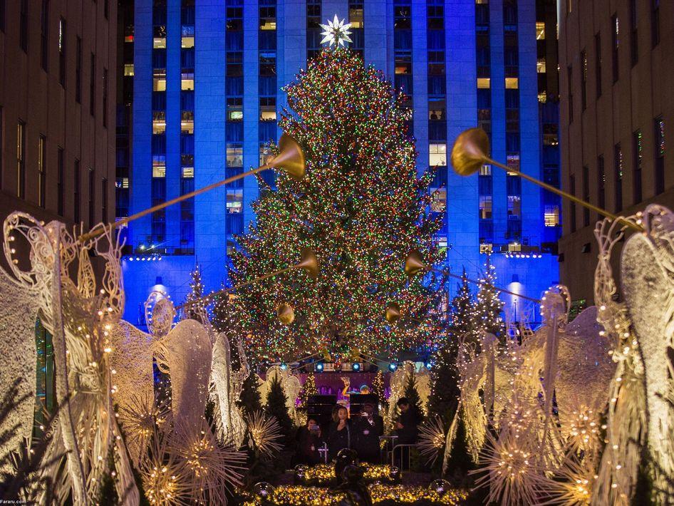 درخت کریسمس در نیویورک