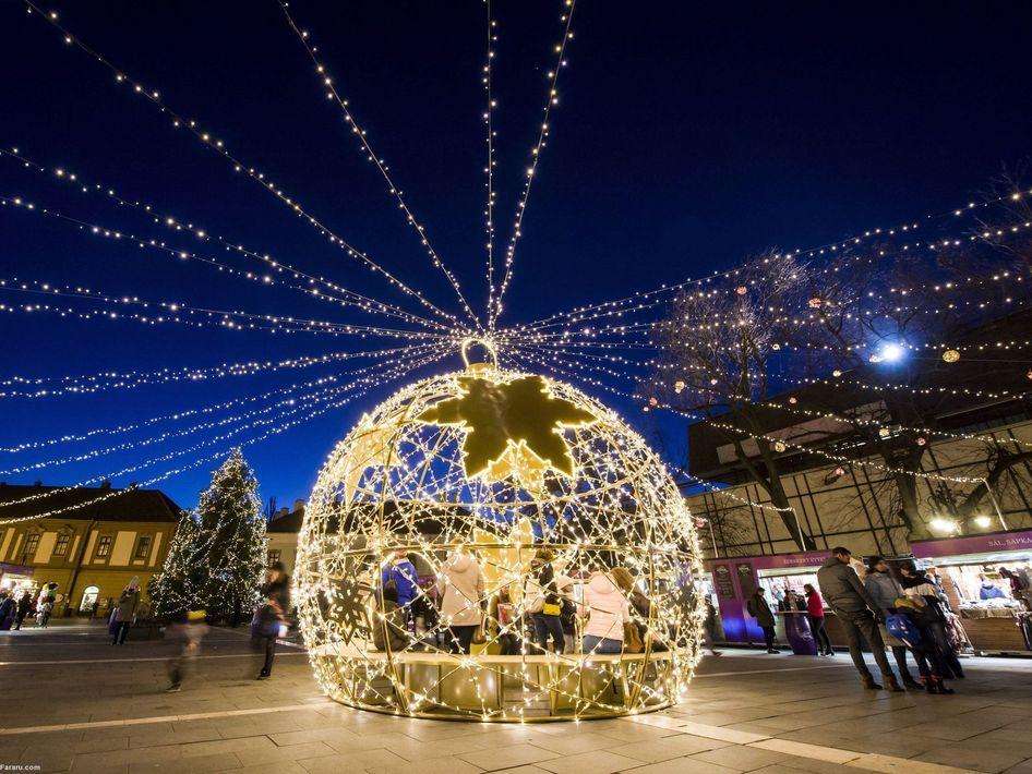 کریسمس در بوداپست مجارستان