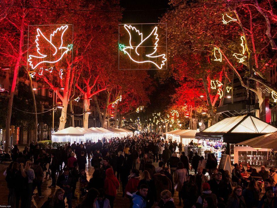 کریسمس در بارسلونا